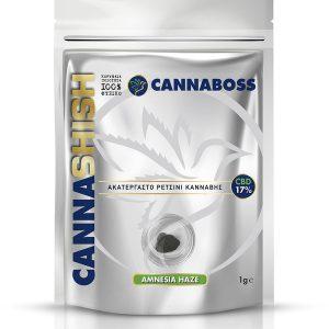 Άνθη CBD Hash CannaShish Amnesia Haze 17% CBD 1g