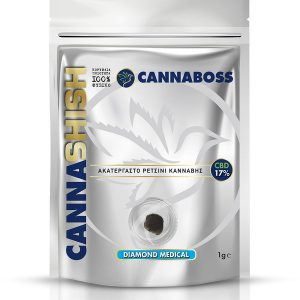 Άνθη CBD Hash CannaShish Diamond Medical 17% CBD 1g