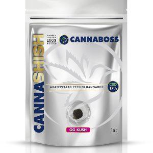CBD Hash CannaShish OG Kush 17% CBD 1g