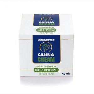 CannaCream CBD αλοιφη 400mg CBD